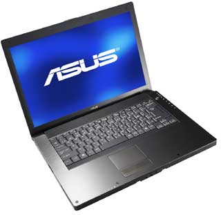 ASUS W1JC T2500-2.0GHz / 2048MB/ 120GB/ DVD±RW/15,4""