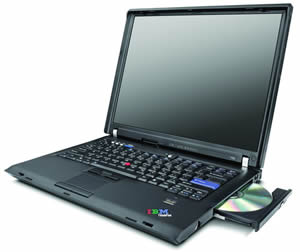 IBM - Lenovo ThinkPad R60 T2300e-1.66GHz/ 512MB/ 60GB/ DVD±RW/ 15""