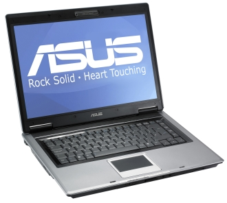 ASUS F3JC /T2300 /DVDRW /80GB /512MB /WL /BT /15.4C