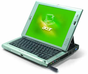 Acer TravelMate C213Mi T5500/1.66GHz, 2x512MB, 120GB, DVD+/-RW, 12'' XGA, XPp, WLAN, BT