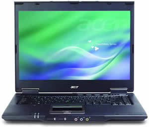 Acer Aspire 6413WLMi, T5500/1.66GHz, 512MB, 80GB, DVD+/-RW, 15.4'' WXGA, WLAN, BT