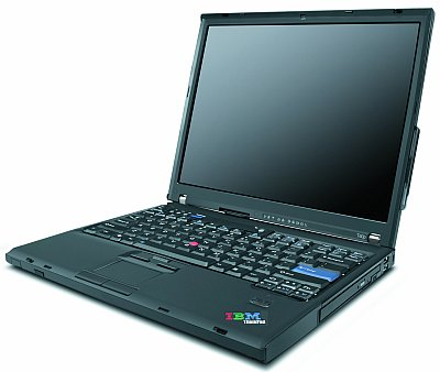 IBM - Lenovo ThinkPad T60w T5600-1830/15,4/1G/80/X1400/DVD±RW/BT