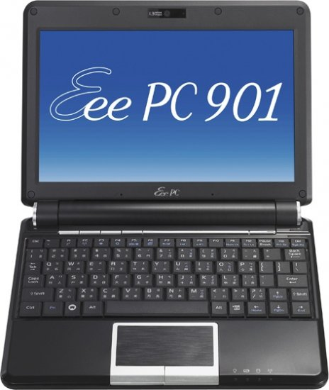 "ASUS Eee 901 mini PC 8,9"" 1GB 12GB SSD WiFi Cam"